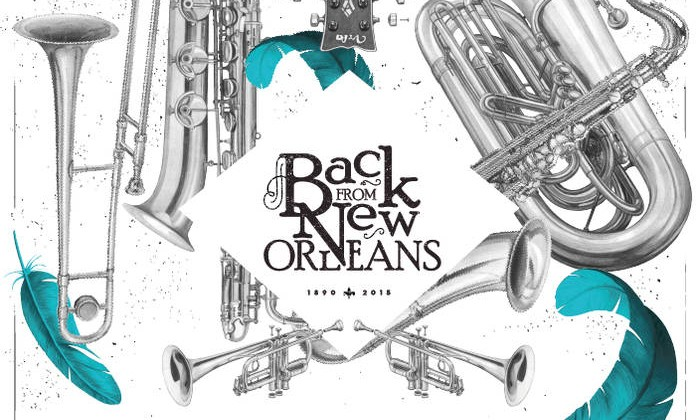nola brass band - back from new orleans