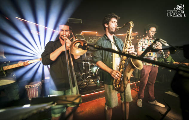 The Horny Reptile Orchestra - Sala Lemon (Junio, 2015)