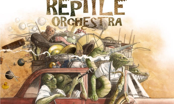 The Horny Reptile Orchestra Garage Swing