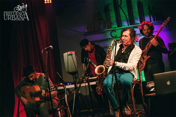 Jorge Pardo - Café Berlín (21-1-2017)