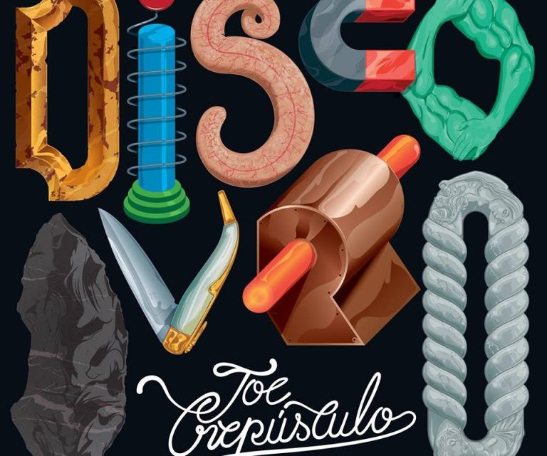 "Portada albúm Joe Crepúsculo - ""Disco Duro"" (2017)"